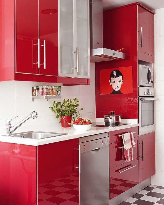 colores que combinan con rojo