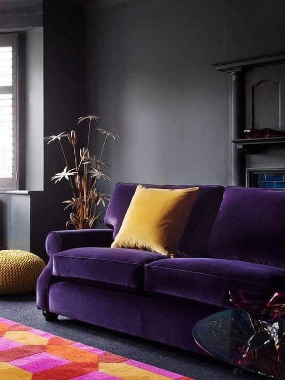 colores que combinan con morado