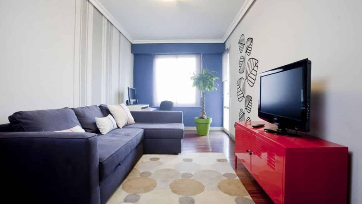 decoracion de salas estrechas y alargadas